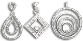 Diamond Fashion Pendants