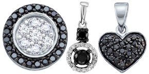 Black Diamond Pendants