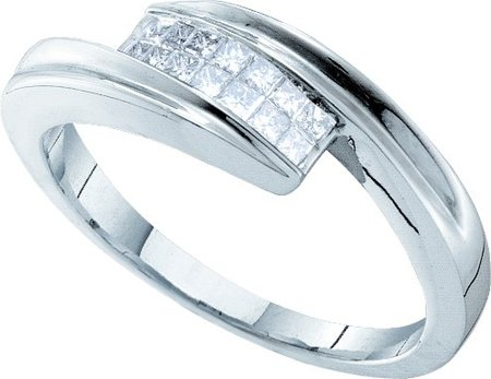 Ladies Diamond Band 14K White Gold 0.25 cts. GD-26871
