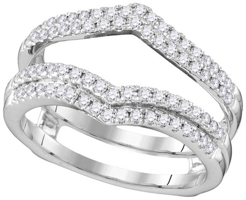 Diamond Ring Enhancer 14K White Gold 0.51 cts. GD-106878